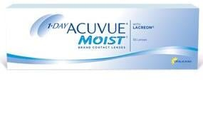 1-DAY ACUVUE® MOIST 30 Pack