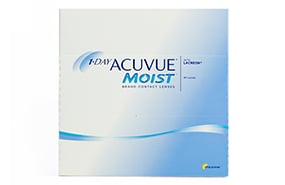 1-DAY ACUVUE® MOIST 90 Pack