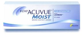 1-DAY ACUVUE® MOIST for ASTIGMATISM 30 Pack