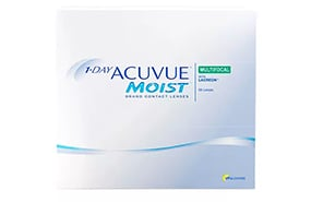 1-DAY ACUVUE® MOIST MULTIFOCAL 90 Pack