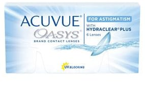 ACUVUE OASYS® for ASTIGMATISM 6 Pack