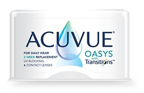 ACUVUE® OASYS with Transitions™ 6 Pack