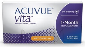 ACUVUE® VITA® for Astigmatism 6 Pack