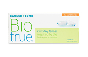 Biotrue ONEday for Astigmatism 30 Pack
