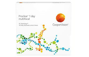 Proclear® 1 day multifocal 90 Pack